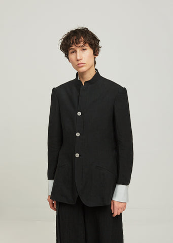 Sulfurated Stand Collar Jacket