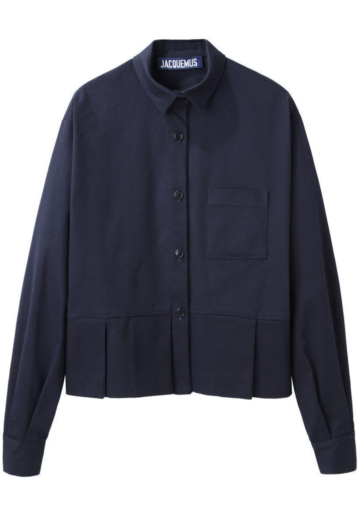 Military Pleated Shirt