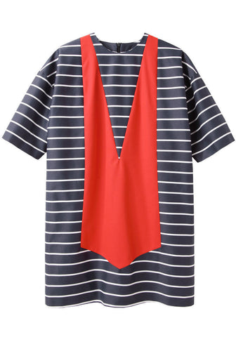 Striped Maillot Dress