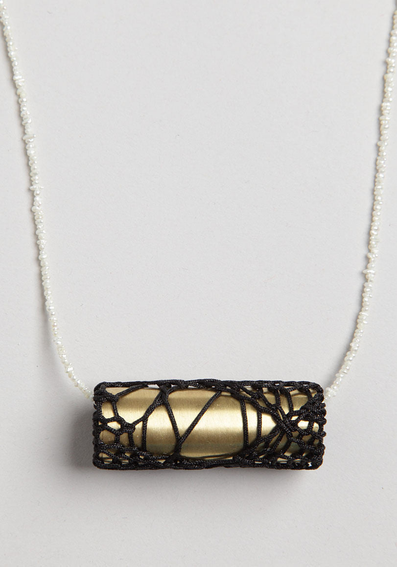 Encased Tube Necklace