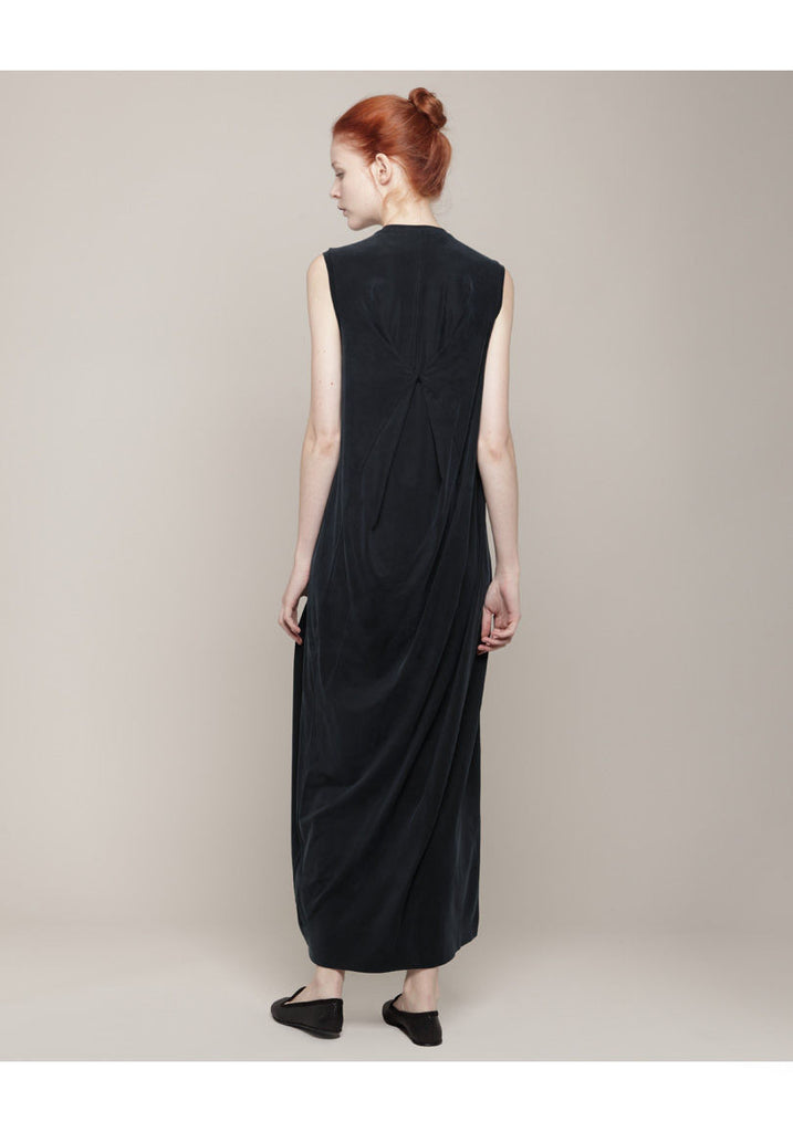 Square Back Column Dress