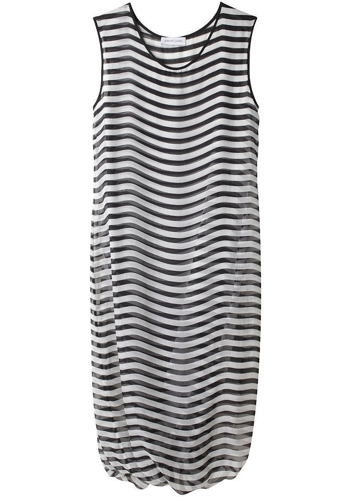 Twisted Shift Dress