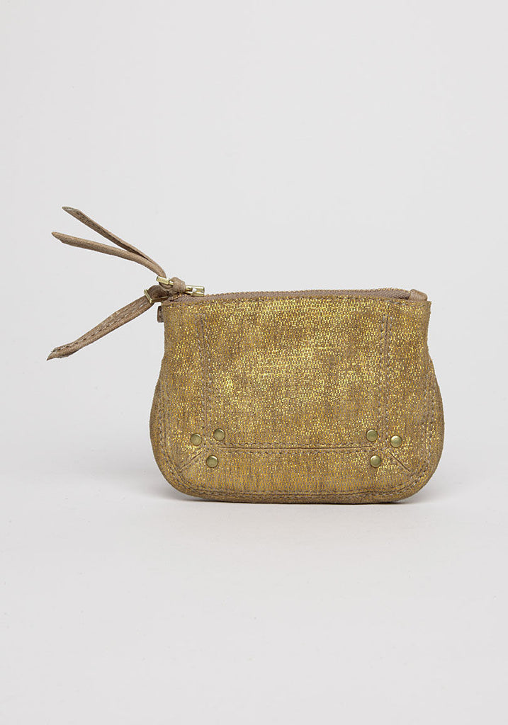 Igor Metallic Suede Bag