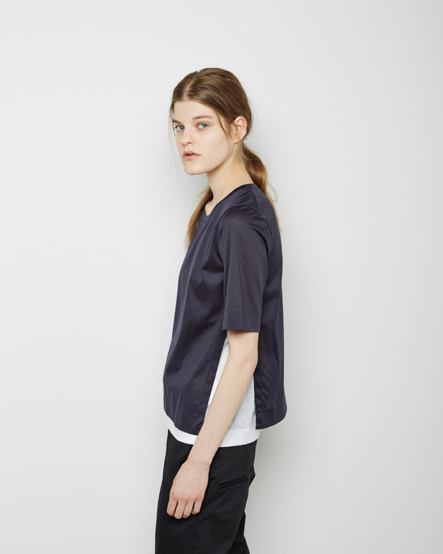 Bi-color Layered T-Shirt