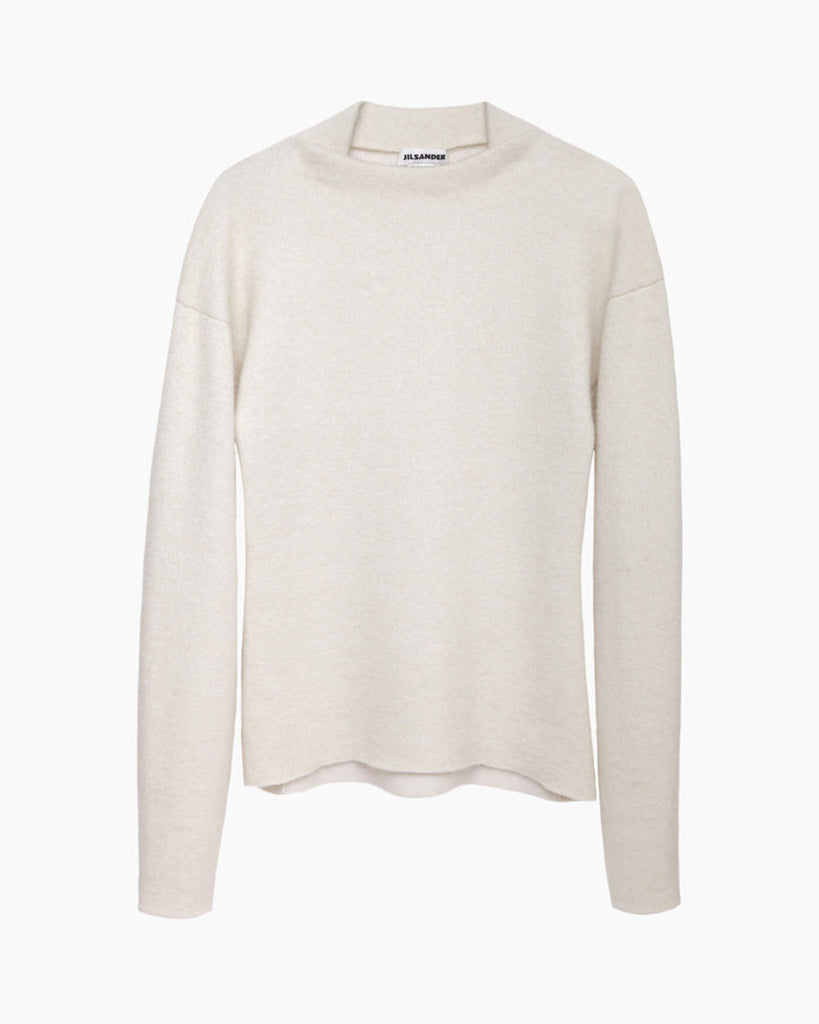 Folded Neck Pullover