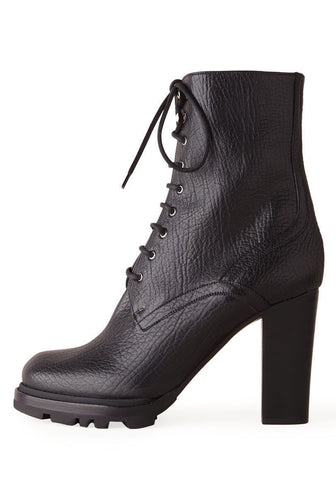 Laced High Heeled Boot