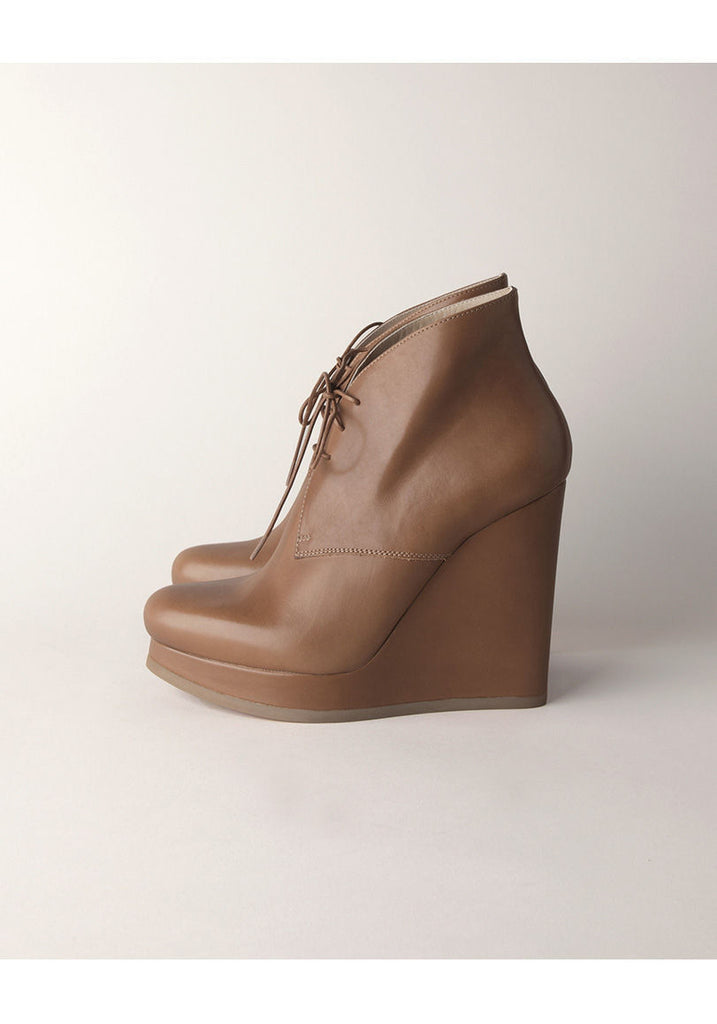 Platform Wedge Boot