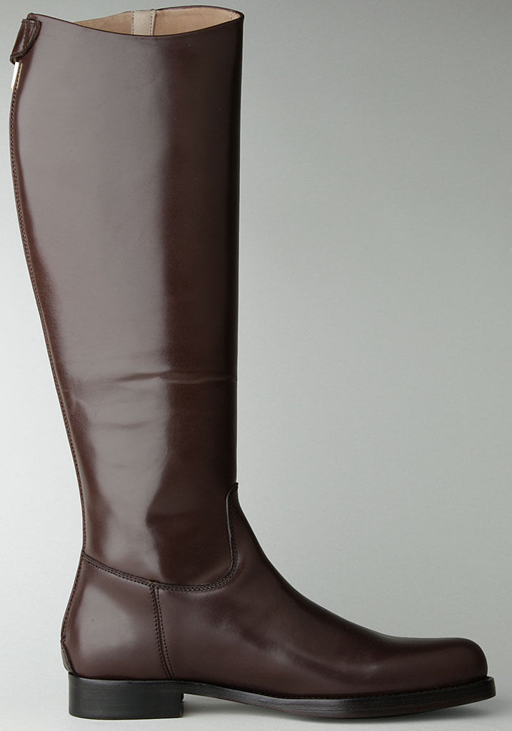 Pull On Knee High Boot