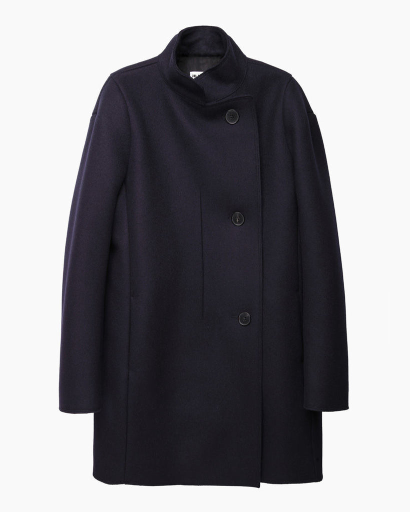 Scotland Stand Collar Coat