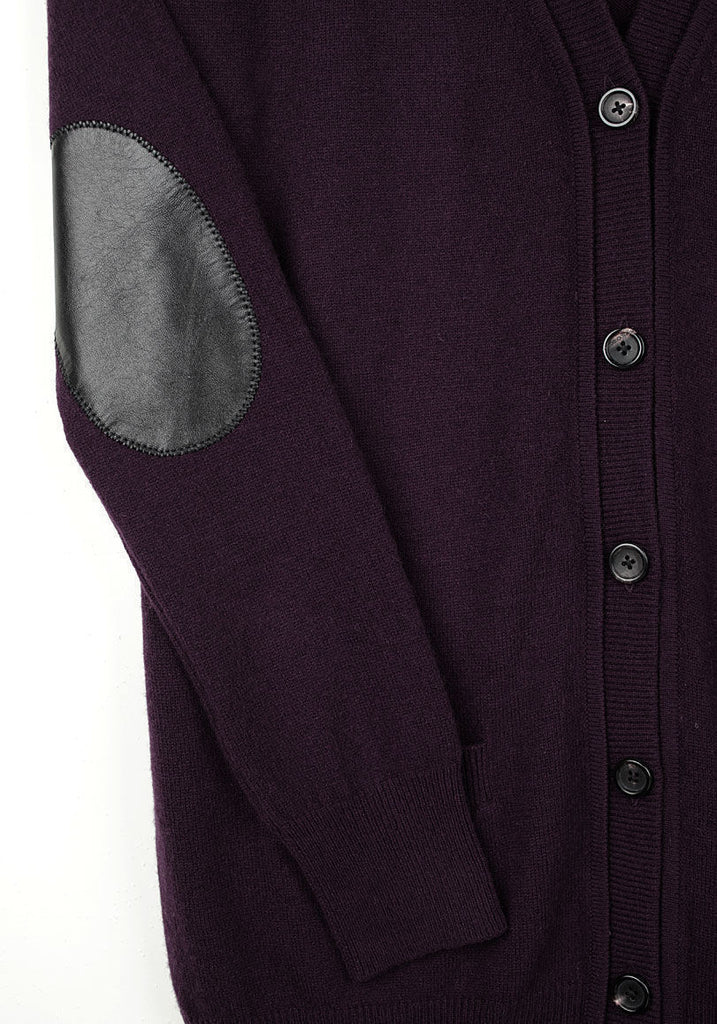 Men's Cardigan w/ Patches