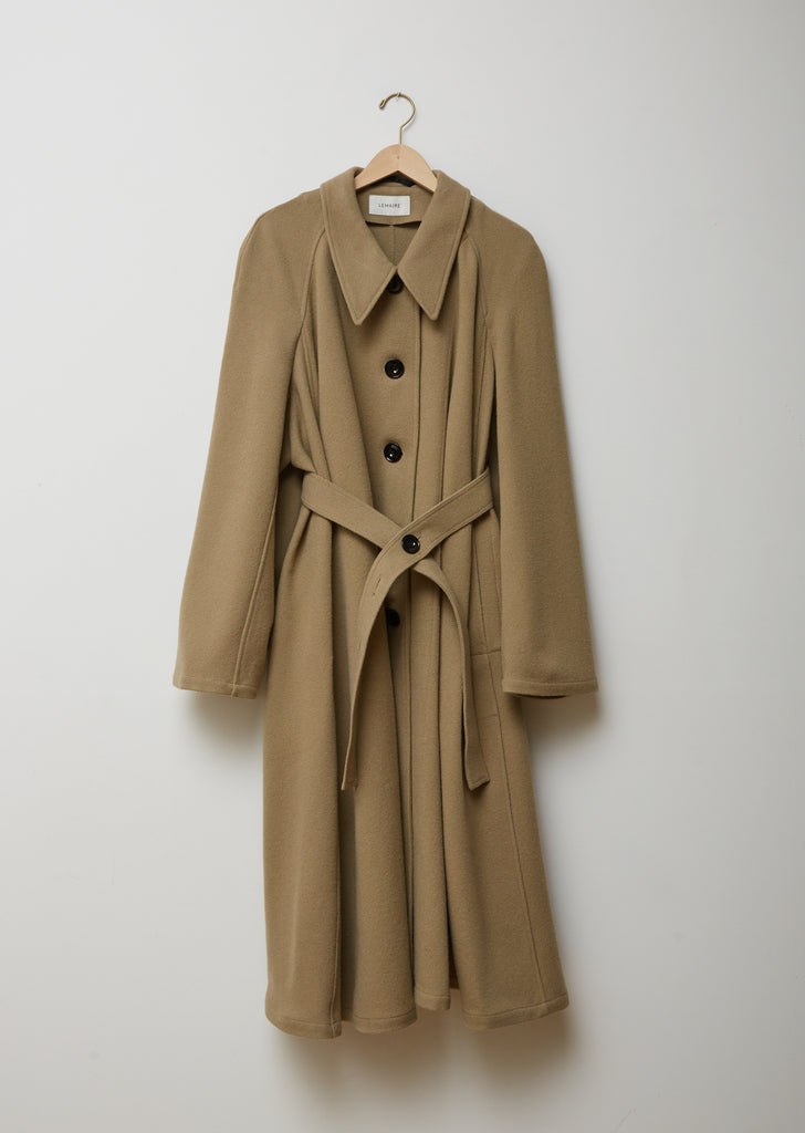 Wool Belted Overcoat