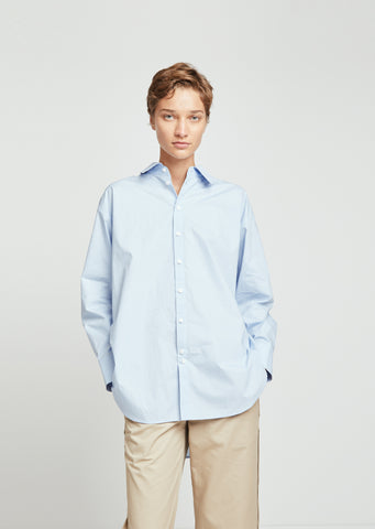 Menswear Cotton Poplin Shirt