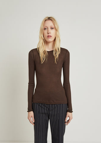 Isabell Rib Crew Sweater