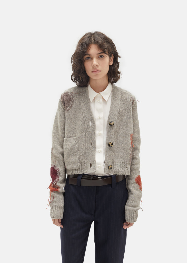 Lysa Wool Knit Cardigan