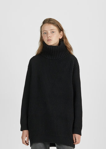 Disa Lambswool Turtleneck Sweater