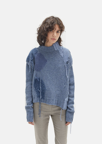 Ovira Patch Knit Turtleneck