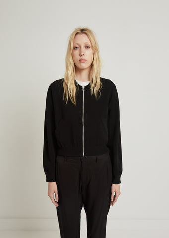 Pokla Compact Zip-Up Knit Jacket