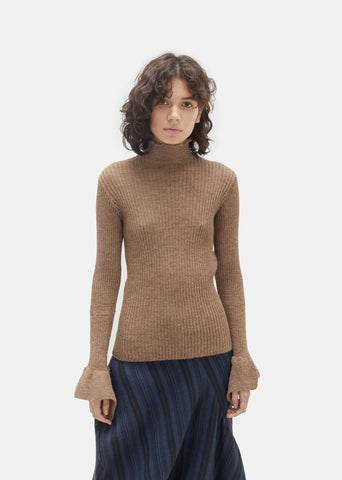 Raine Alpaca Knit Turtleneck
