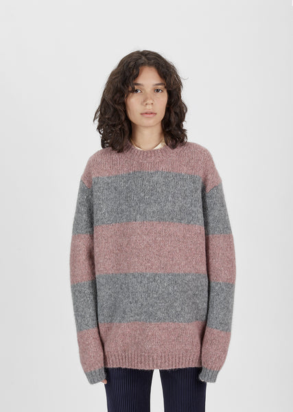 Albah Alpaca Striped Sweater