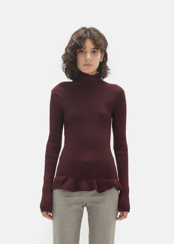 Rosie Rib Knit Turtleneck