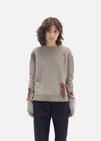 Leniz Wool Knit Sweater