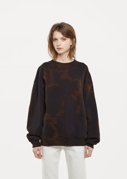 Yana Bleach Fleece Sweatshirt