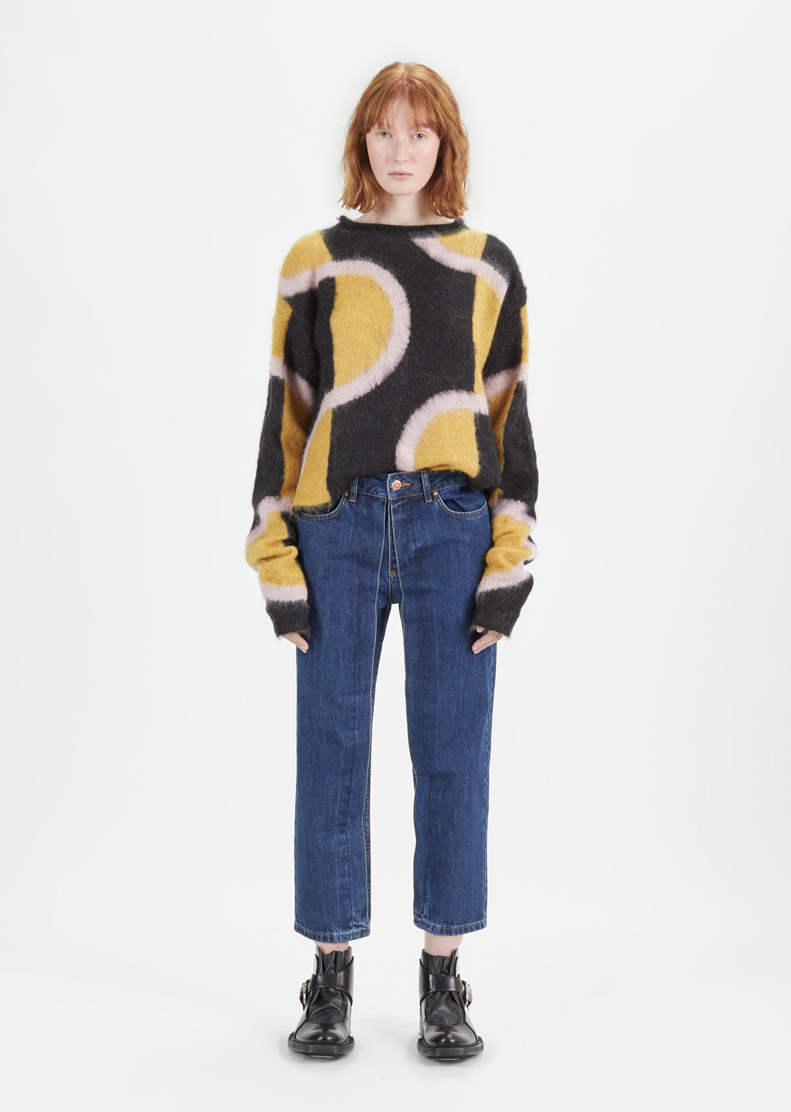 Multicolor Mohair Sweater