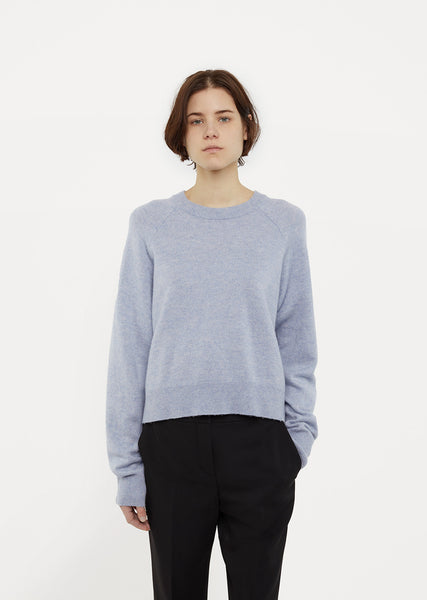 Wool & Cashmere Raglan Sweater