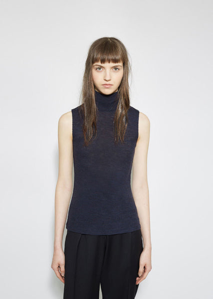 T by Alexander Wang Turtleneck Tank La Garconne