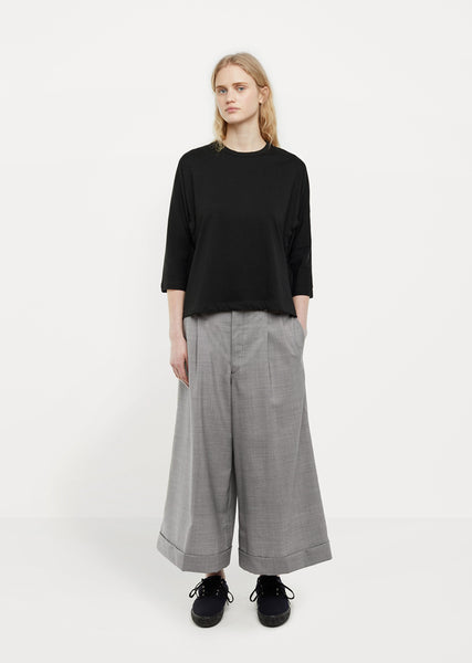 Wool Houndstooth Pants