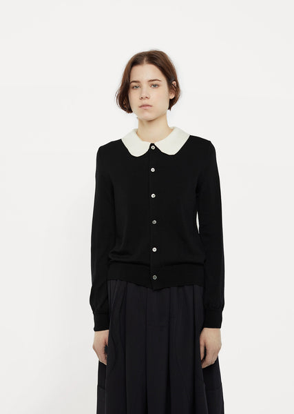 Peter-pan Collar Cardigan