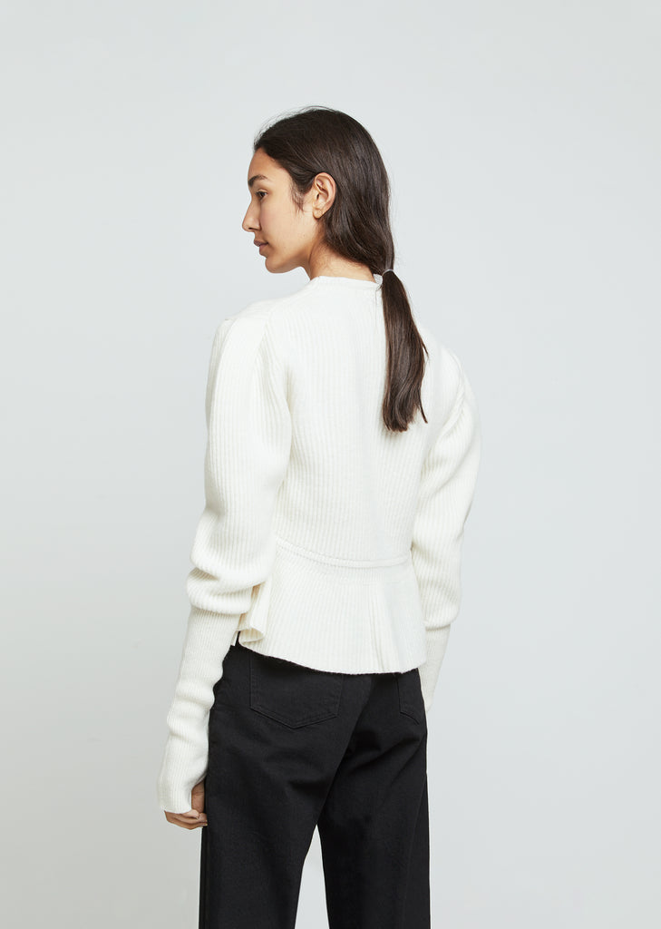 Puffy Lambswool Sweater