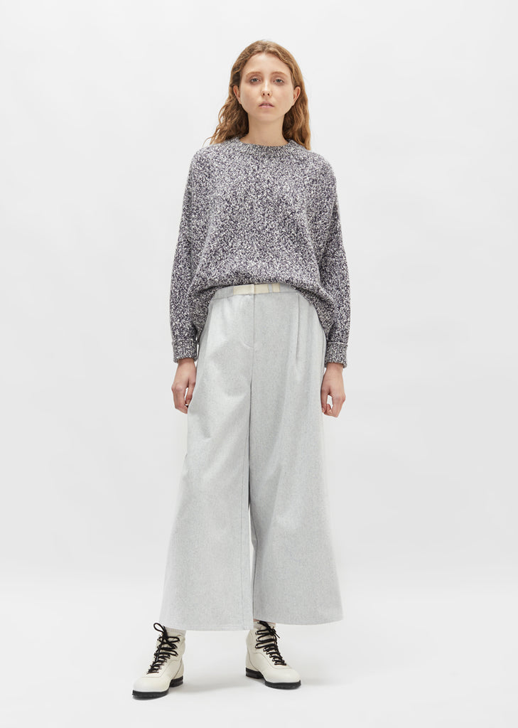 Cotton Wide Leg Pant