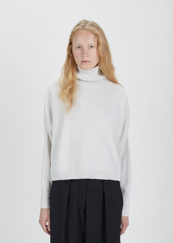 Cashmere Chunky Turtleneck Sweater