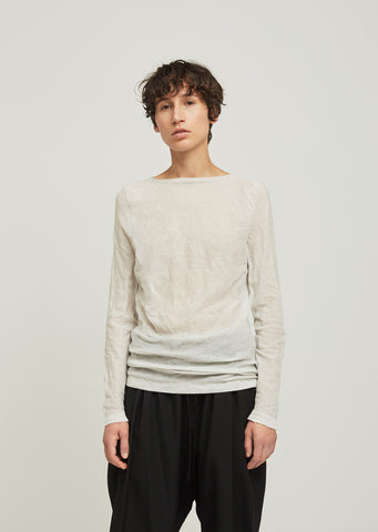 Art Steel Ribbed Crew Neck Sweater