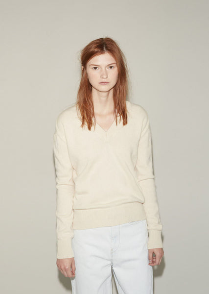 Hache V-Neck Sweater La Garconne