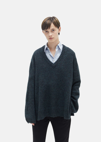 Ash Melange Sweater