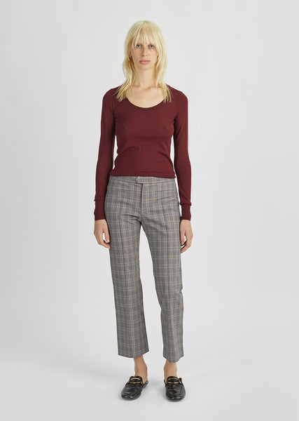 Nerys Plaid Trousers