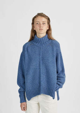 Dasty Baby Camel Turtleneck Sweater