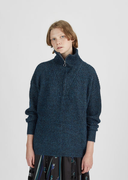 Declan Half-Zip Turtleneck