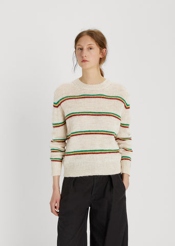 Goya Striped Alpaca Knit