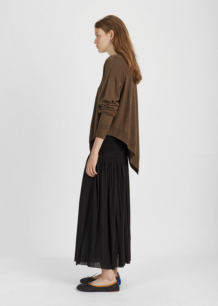 Molly Draped Long Skirt
