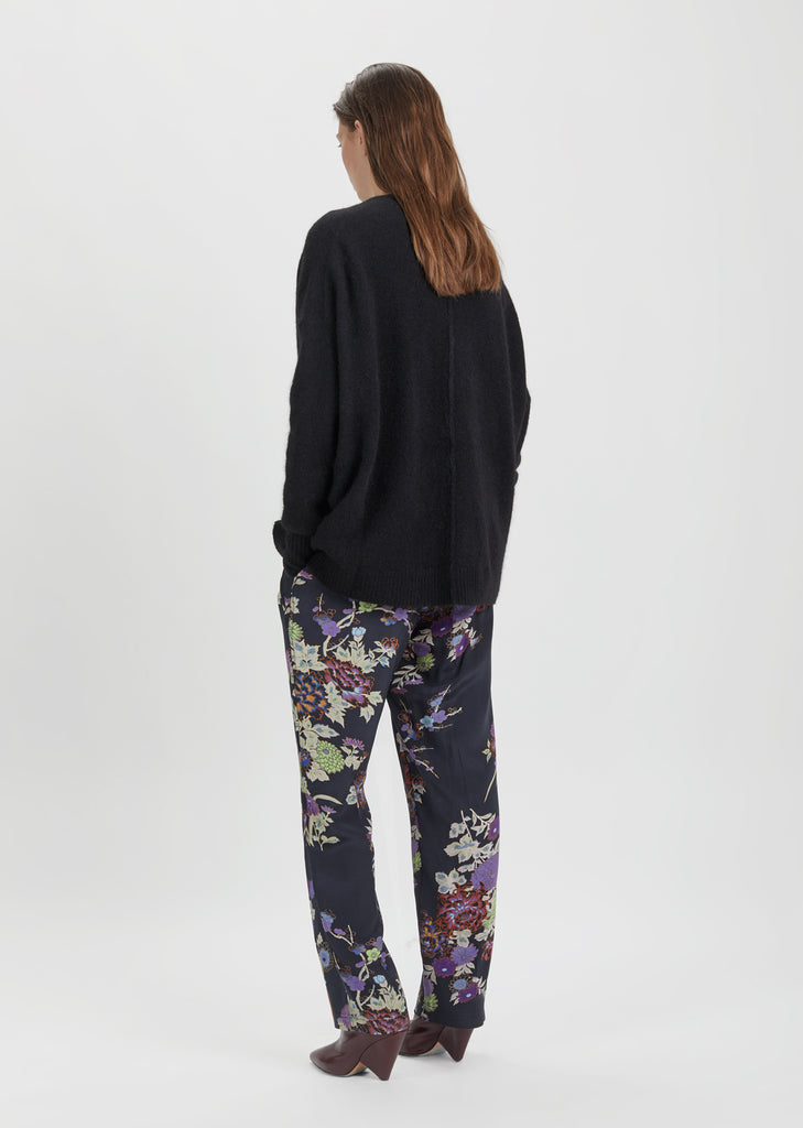 Isley Printed Silk Pant
