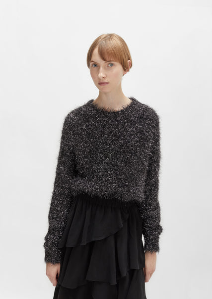Ben Furry Lurex Sweater