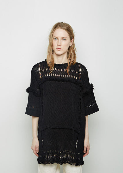 Tandy Oceanic Fringe Top