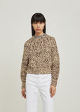 Wenji Loose Knit Pullover Sweater