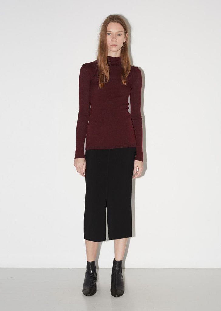 Zasha Thin Ribbed Knit
