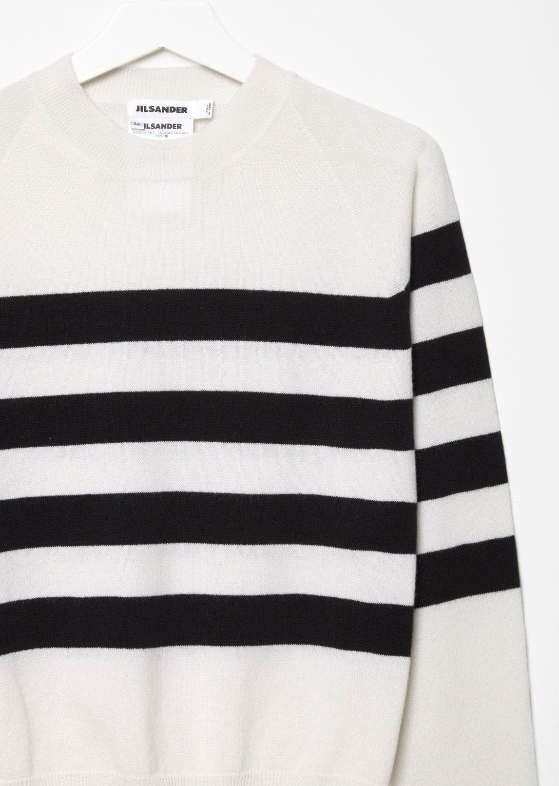 Cashmere Bold Stripes Sweater
