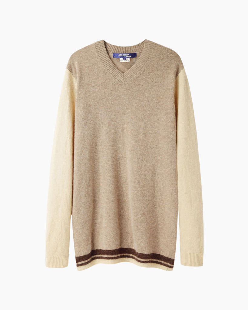 Mixed Knit Pullover