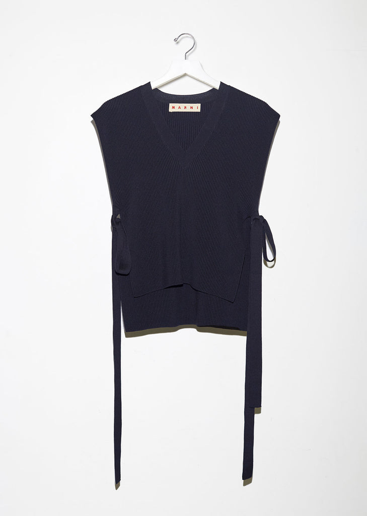 Sleeveless Layering Sweater